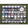 VLJ-VALLEJO ACRYLIC PAINTS 70142 Medieval Colors Paint Set