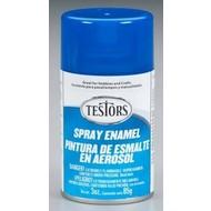TES - Testors Spray 3oz Dark Blue