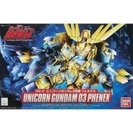 BAN - Bandai Gundam BB#394 Unicorn Gundam 03 Phenex  SD