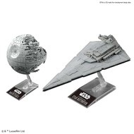 BAN - Bandai Gundam Death Star II & Star Destroyer Star Wars
