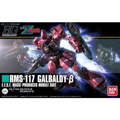 "BAN - Bandai Gundam 224024 #212 Galbaldy Beta ""Zeta Gundam"", Bandai HGUC 1/144"
