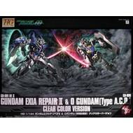 BAN - Bandai Gundam Exia Repair + 0 Gundam Clear Ver.