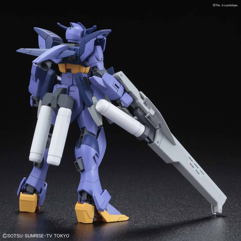 "BAN - Bandai Gundam 5055336 #17 Impulse Gundam Arc ""Build Divers"", Bandai HGBD 1/144"