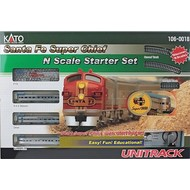 KAT-Kato USA Inc 381- N SF Super Chief Starter Set