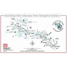 COE McLellan-Kerr Arkansas River - Corps of Engineers Chartsbook 2003