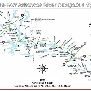 COE McLellan-Kerr Arkansas River - Corps of Engineers Chartsbook 2003
