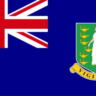 "DEF British Virgin Islands Flag 12"" X 18"""