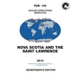 GPO SDPub145 Sailing Directions Nova Scotia & St Lawrence River 18E/2018