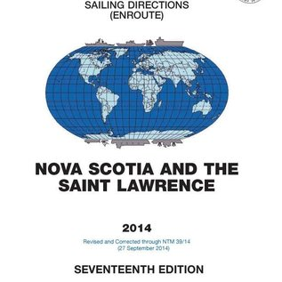 GPO SDPub145 Sailing Directions Nova Scotia & St Lawrence River 17ED/2014