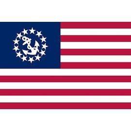 "HUM Yacht Ensign Flag 24"" X 36"""