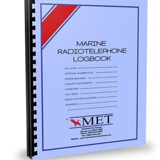MET Marine Radio Telephone Logbook