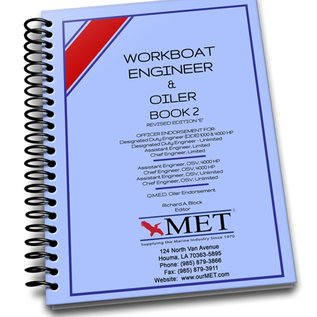 MET Workboat Engineer and Oiler Vol 2 BK-107-2 MET