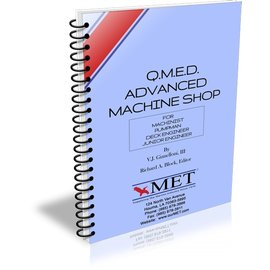 MET QMED Advanced Machine Shop BK-0068-4 MET