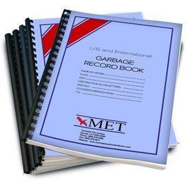 MET Garbage Record Book MET BK-326-1