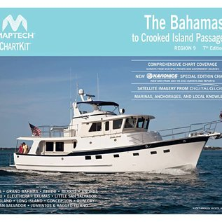 MTP ChartKit 9 The Bahamas to Crooked Island Passage 7E 2014  by Maptech