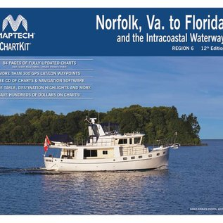 MTP ChartKit 6 Norfolk, Va. to Florida and the Intracoastal Waterway by Maptech