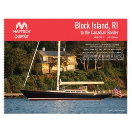 MTP ChartKit 2 Block Island to Canadian Border 16ED by Maptech