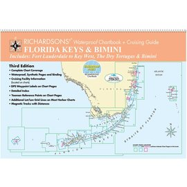 MTP Florida Keys and Bimini by Richardsons Waterproof Chartbook and Cruising Guide