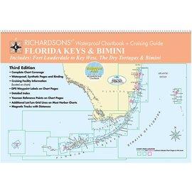 MTP Florida Keys and Bimini by Richardsons Waterproof Chartbook and Cruising Guide