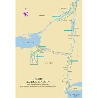 MTP Hudson River & Adjacent Waterways Richardsons Chartbook & Cruising Guide