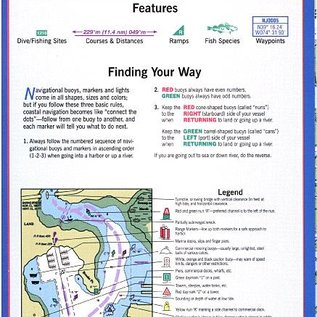 MTP Little Egg Harbor, NJ to Cape May, NJ Waterproof Chart by Maptech WPC035