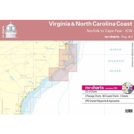 NP NV Charts Region 6.1 Virginia & North Carolina Coasts