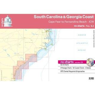 NP NV Charts Region 6.2  South Carolina & Georgia Coasts