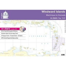 NP NV Charts Region 12.3 Windward Islands - Martinique to Grenada