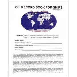 PS CG-4602A Oil Record Book for Ships