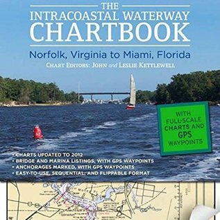 TAB Intracoastal Waterway Chartbook Norfolk-Miami 6E 2012 ICW