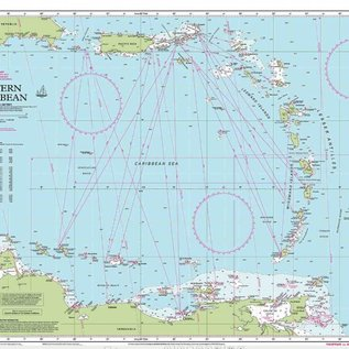 W&P I-I 1 Eastern Caribbean chart by Imray-Iolaire