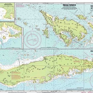 W&P I-I A131 Isla de Culebra and Vieques chart by Imray-Iolaire