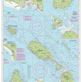 W&P I-I A25 St Christopher, St Eustatius, Nevis, Monserrat and Saba chart by Imary-Iolaire