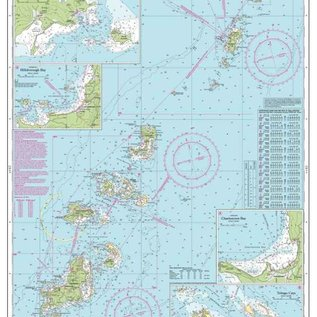 W&P I-I B31 The Grenadines- Bequia to Carriacou chart by Imray-Iolaire
