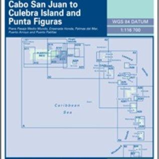 W&P I-I A13 Cabo San Juan to Culebra Is and Punta Figuras - Southeast Coast of Puerto Rico