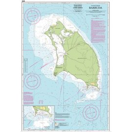 W&P I-I A26 Barbuda chart by Imray-Iolaire