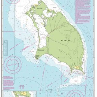 W&P I-I A26 Barbuda chart by Imray-Iolaire