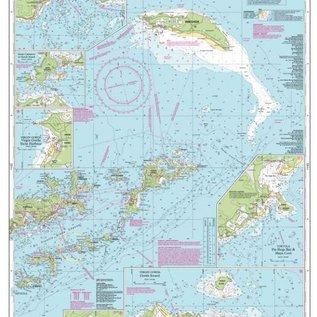 W&P I-I A232 Virgin Islands, Tortola to Anegada chart by Imray-Iolaire