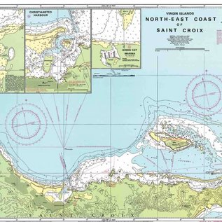 W&P I-I A234 Northeast Coast of St. Croix chart by Imray-Iolaire