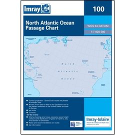 W&P I-I 100 North Atlantic Ocean Passage Chart by Imray-Iolaire