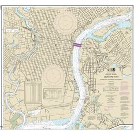 NOS NOS 12313 OGF Delaware River - Philadelphia and Camden Waterfronts