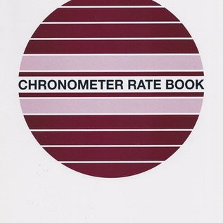 GRD Chronometer Rate Book  D47