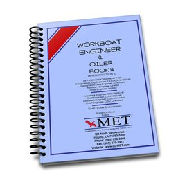 MET Workboat Engineer and Oiler Vol 4 BK-107-4 MET