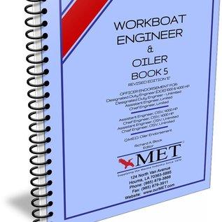 MET Workboat Engineer and OIler Vol 5 BK-107-5 MET