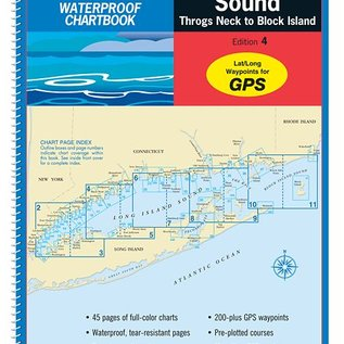MTP Long Island Sound Waterproof Chartbook by Maptech WPB0325