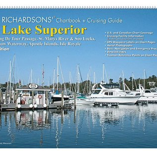 MTP Lake Superior Richardsons Chartbook & Cruising Guide 4th edition