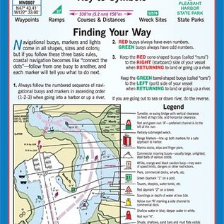 MTP Puget Sound Waterproof Chart by Maptech WPC100