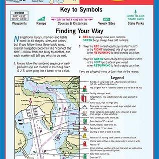 MTP The San Juan Islands Waterproof Chart by Maptech WPC104