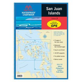 MTP San Juan Islands Waterproof Chartbook by Maptech WPB1510