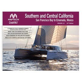 MTP ChartKit 12 Southern and Central California: San Francisco Bay to Ensenada, Mexico by Maptech